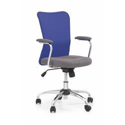 Fotel młodzieżowy Andy niebieski