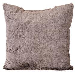 Poduszka z futerka jasny brąz