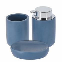 Zestaw akcesoriów łazienkowych - granat