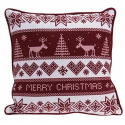 Poduszka aksamitna Merry Christmas