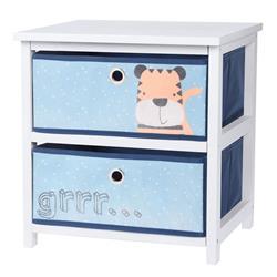 Komoda dla dzieci z szufladami niebieska