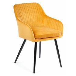 Krzesło Lenti Black Orange