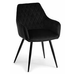 Krzesło Sametti Black