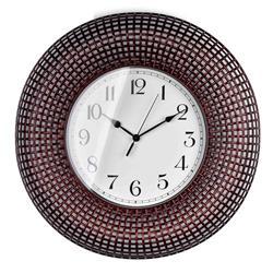Zegar ścienny Easton Brown 58 cm