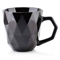 Kubek ceramiczny Adel Black 380 ml
