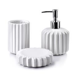 Komplet łazienkowy Ferra White