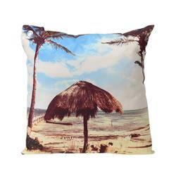 Poduszka 45x45 cm Wypoczynek pod palmami