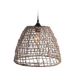 Lampa sufitowa pleciona Boho 35x29 cm