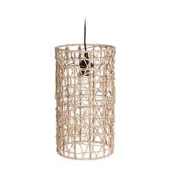 Lampa sufitowa pleciona Boho 40x22 cm