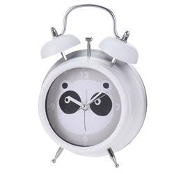 Budzik dla dzieci biały Panda