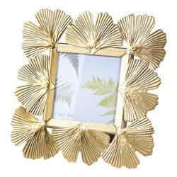 Złota ramka na zdjęcia Glamour 14,5 cm