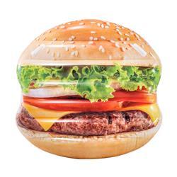 Materac dmuchany do pływania hamburger