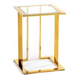 Stolik pomocnik Sawa Gold 40 cm