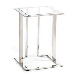 Stolik pomocnik Sawa Silver 40 cm