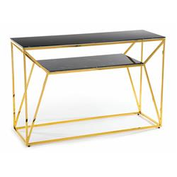 Konsola Farasin Gold Black 120 cm