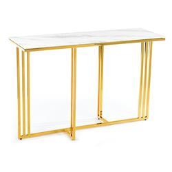 Konsola Amagat Gold White 120 cm