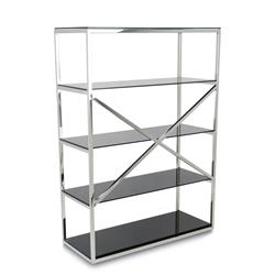 Regał Torni Silver Black 100x140 cm