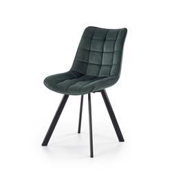 Krzesło model K332 ciemno zielone