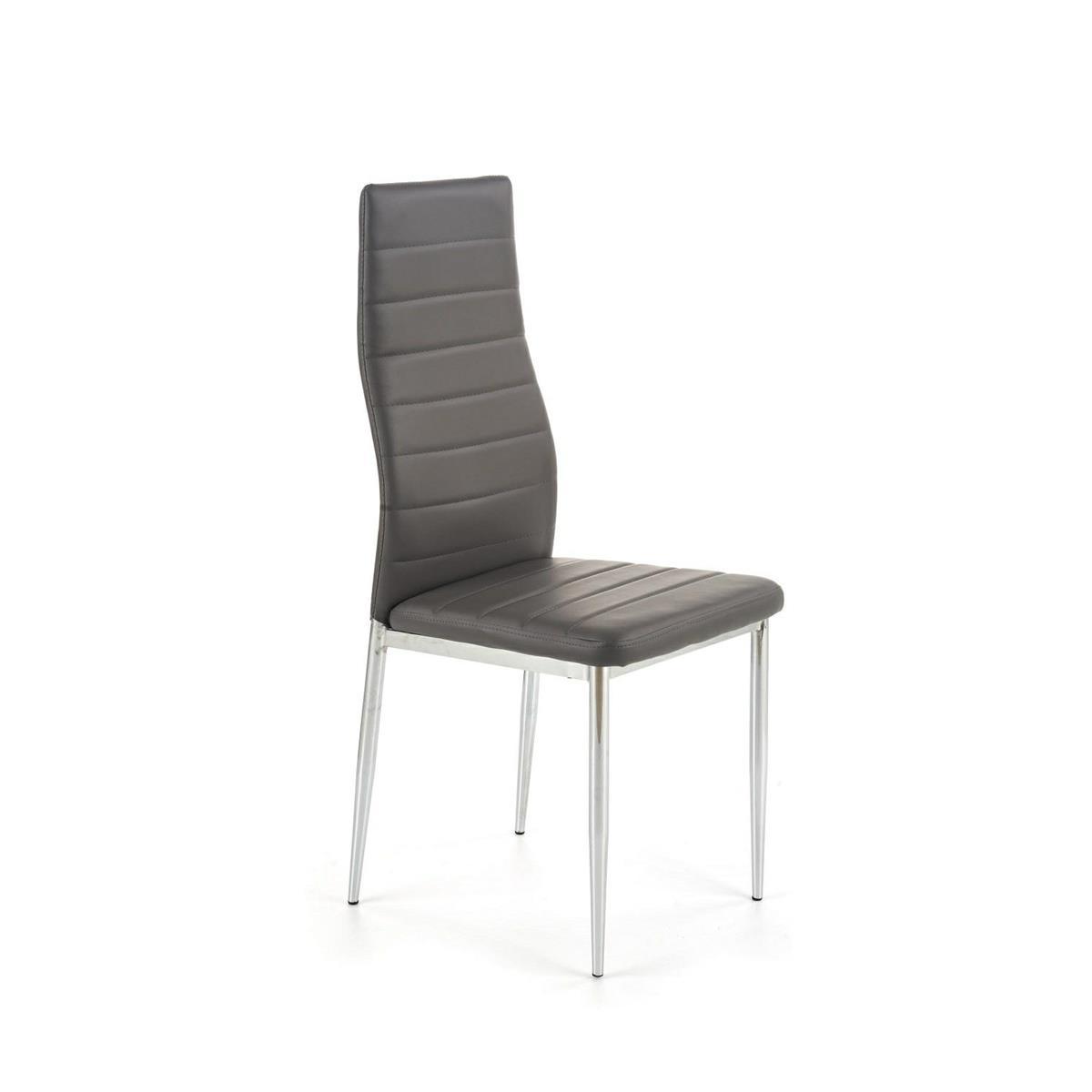 Krzesło model K70C popielate