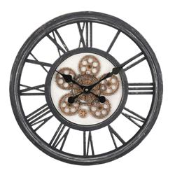 Zegar ścienny Loft koła zębate 50 cm