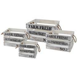Komplet 4 skrzynek Farm Fresh