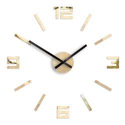 Zegar Arabic lustro złote 50 cm
