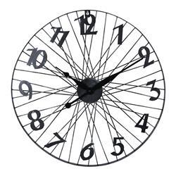 Nowoczesny zegar ścienny 60 cm