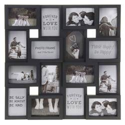 Multiramka na 16 zdjęć 10x15 czarna