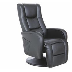 Fotel Pulsar z funkcją masażu czarny