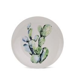 Talerz ceramiczny 20,5 cm Tropiki wzór 2
