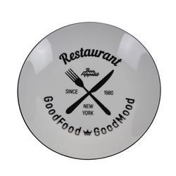 Talerz porcelanowy biały Restaurant 20cm