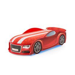 Łóżko dziecięce UNO A6 Sport Red LED