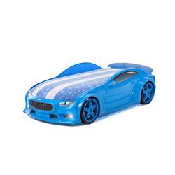 Łóżko dziecięce VOLT Sport Blue LED