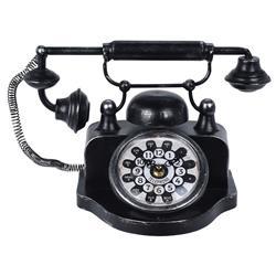 Zegar stojący w stylu vintage Telefon
