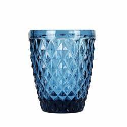 Szklanka Diament niebieska 270 ml