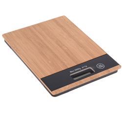 Elektroniczna waga kuchenna bambusowa