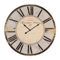 Zegar ścienny Diam Blue 60 cm