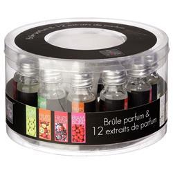 Zestaw 12 olejków zapachowych
