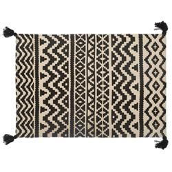 Prostokątny dywan Delhi Pompons 60x90 cm