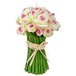 Świeca dekoracyjna Pink Rose