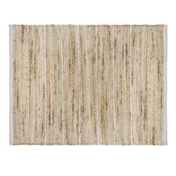 Dywan jutowy 60x90 cm White Stripe