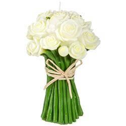 Świeca dekoracyjna White Rose