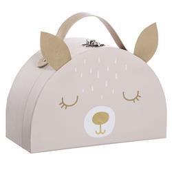 Kuferek na zabawki Pink Rabbit
