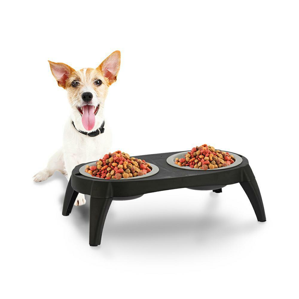 Podwójna składana miska dla psa i kota