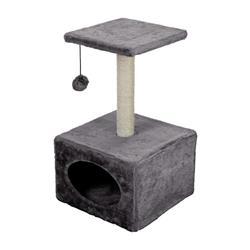 Drapak legowisko dla kota szary