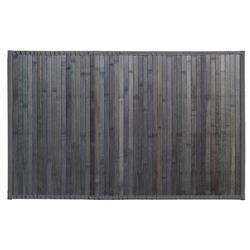 Mata bambusowa 50x80 cm ciemno szara