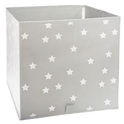 Kosz tekstylny na zabawki White Stars