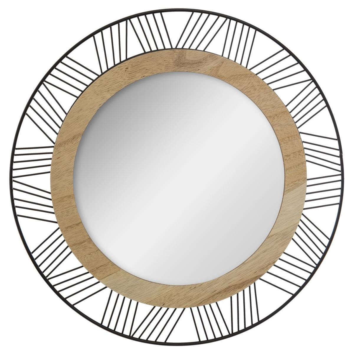 Okrągłe lustro ścienne Joe 45 cm