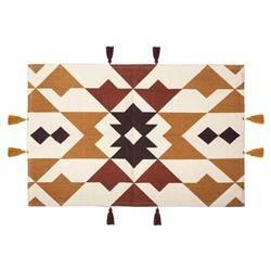 Prostokątny dywan Hacienda Ocre 60x90 cm