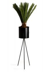 Kwietnik stojący 80 cm  czarny LOFT